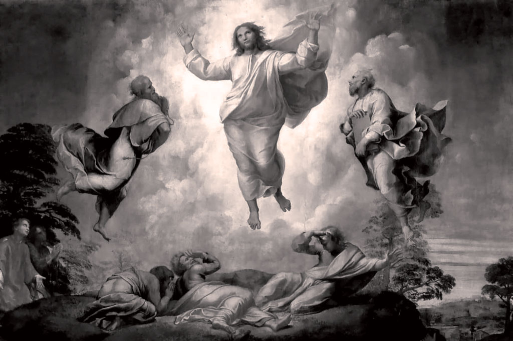 Transfiguration Raphael copy