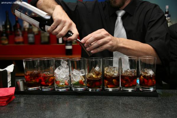 cercasi barman