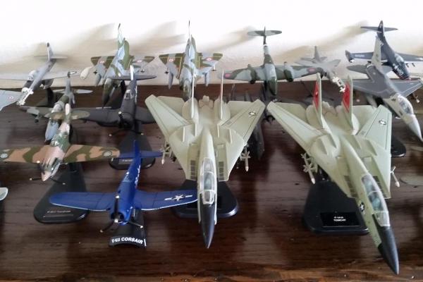 Modellini aerei da guerra