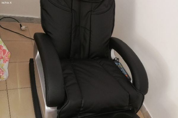 Poltrona massaggi completa