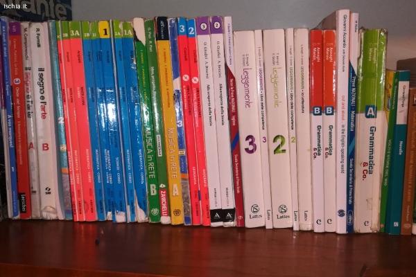 Vendo libri di scuola media