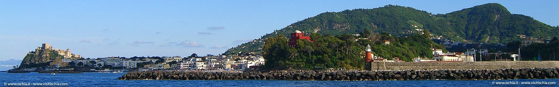 Ischia from the sea