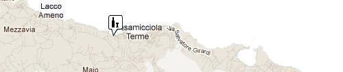 Fischi di Ischia: Map