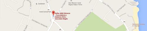 Atelier delle Dolcezze: Mappa