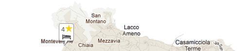 Mappa Hotel Tritone Terme