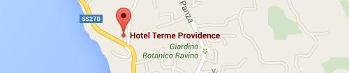 Mappa Hotel Terme Providence