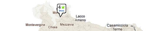 Mappa Albergo Terme San Lorenzo