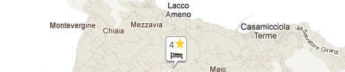 Mappa Hotel Grazia Terme