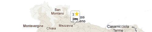 Mappa Hotel Terme Principe