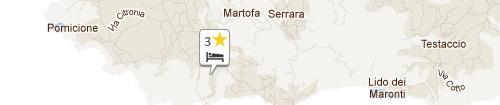 Mappa Villa Natalina Bed & Breakfast