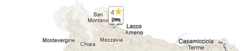Mappa Albergo La Reginella Resort & Spa