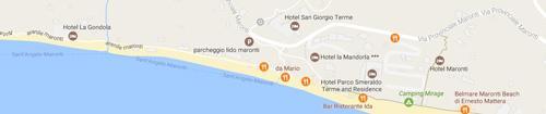 Ristorante Paradise: Mappa