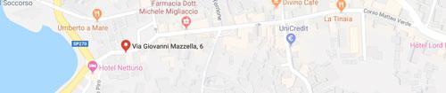 Snack Bar U' Paravis: Mappa