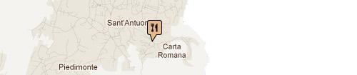 Ristorante Barracuda: Mappa