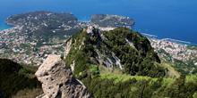 La cresta dell'isola
