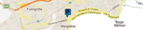 Garage Piedigrotta: Mappa