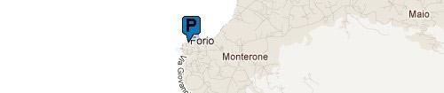 Parcheggio Porto di Forio: Mappa