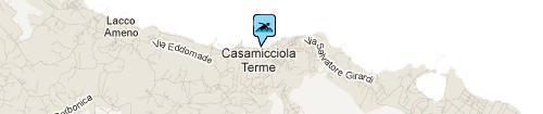 Convento beach: Map