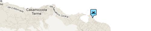 San Pietro beach: Map