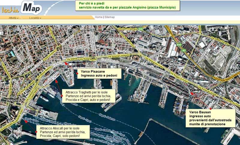 Napoli porta di massa la cura dello yacht - Porta di massa napoli ...