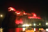 Incendio del Castello Aragonese - Ischia
