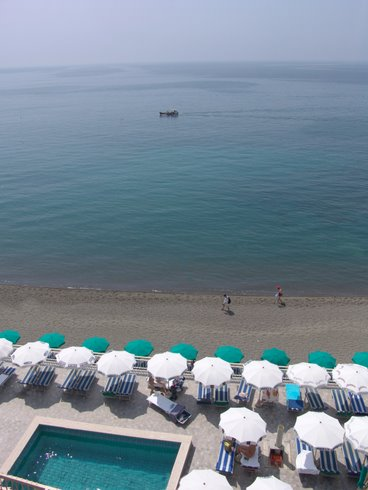 Hotel Vittorio, la spiaggia