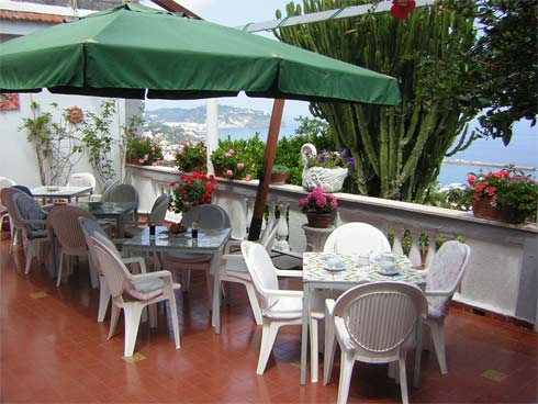 Hotel residence parco mare monte, terrazza