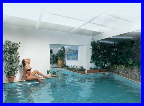 Hotel Terme Zi Carmela la piscina coperta