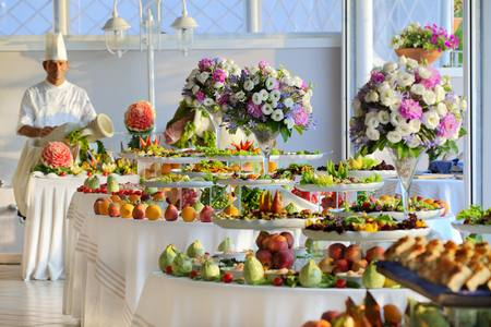 Catering services have been taken good care of, by supplying the restaurant with local and international gastronomic specialities and a rich vegetable buffet both at lunchtime and at dinnertime, often using the products of our family garden (depending on their availability).