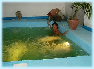 Residence Baia di Sorgeto, la piscina coperta