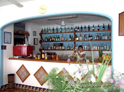Hotel Vittorio, il bar