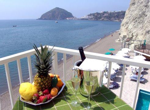 Hotel Vittorio, panorama dalle terrazze delle camere