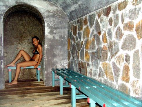 Hotel Vittorio, la sauna