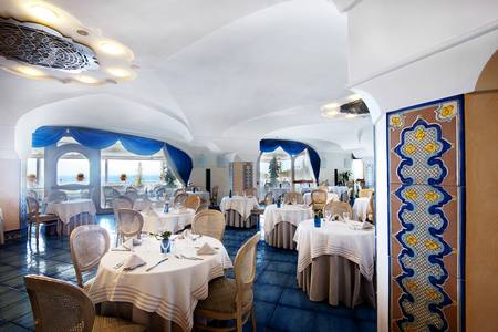 Hotel Villa Sorriso: Blue bar panoramica