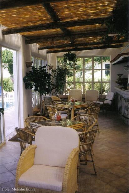 Hotel Villa Melodie il Bar in piscina