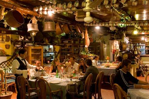 Hotel Terme Zi Carmela, il ristorante