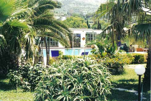 Hotel Villa Melodie il giardino