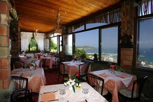 Hotel residence Parco Mare Monte, ristorante