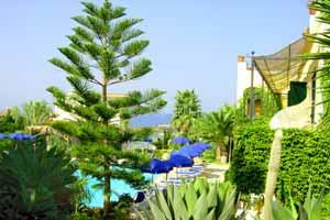 Hotel Villa Melodie panoramica della piscina