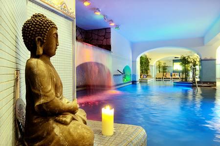Hotel Villa Sorriso: Piscina coperta