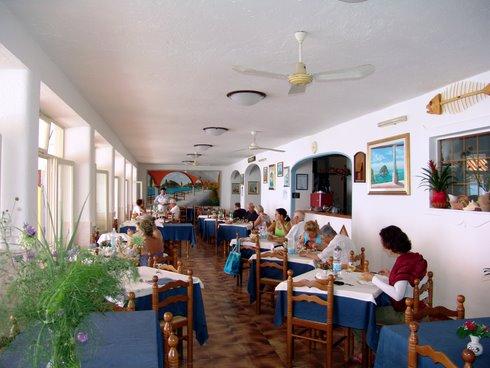 Hotel Vittorio, il ristorante