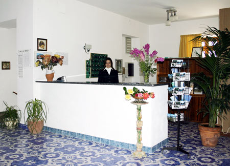 Hotel Al Bosco reception