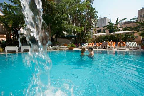 Hotel Terme Zi Carmela, la piscina
