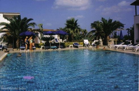 Hotel Villa Melodie piscina