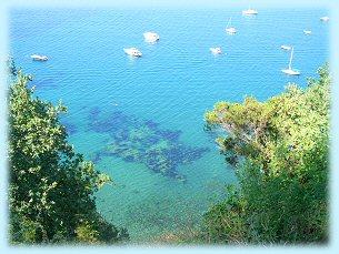 Residence Baia di Sorgeto, il mare
