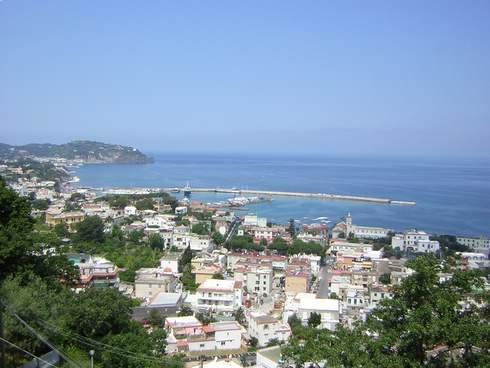 Hotel residence Parco Mare Monte, panoramica su Casamicciola