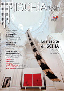 Cover of august 2016 of ischia news & events