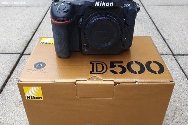 Fotocamera Nikon D500 Come nuova