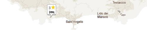 Mappa Albergo Torre Sant'Angelo