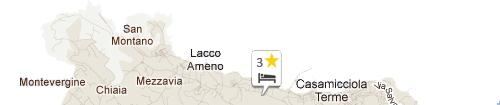 Mappa Hotel Parco Conte